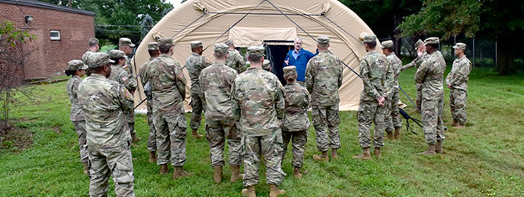 The MSSE PMO of the USAMMDA at Fort Detrick, Maryland, is comprised of a multidisciplinary team with broad mission capabilities for the development of medical products used to sustain and support the Warfighter