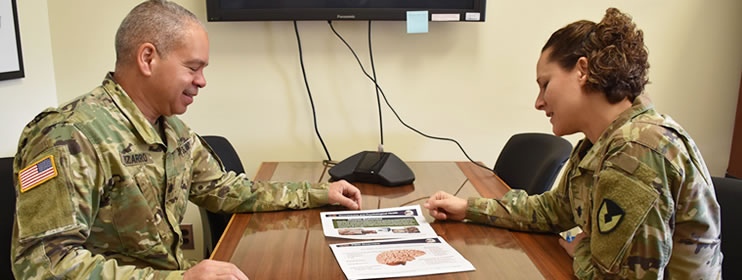 USAMMDA recently announced that two of their medical officers, Army Lt