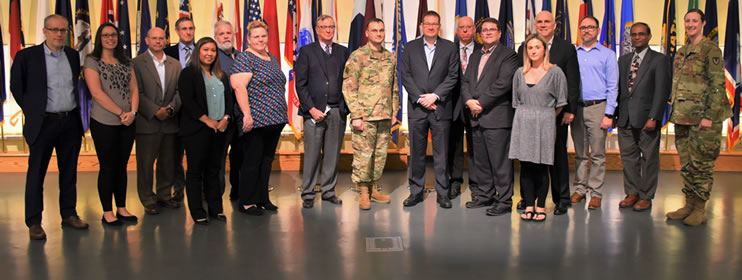 USAMMDA celebrated the recent FDA approval of the antimalarial drug Tafenoquine during a ceremony at Fort Detrick, Oct