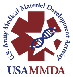 U.S. Army Medical Materiel Development Activity (USAMMDA) logo
