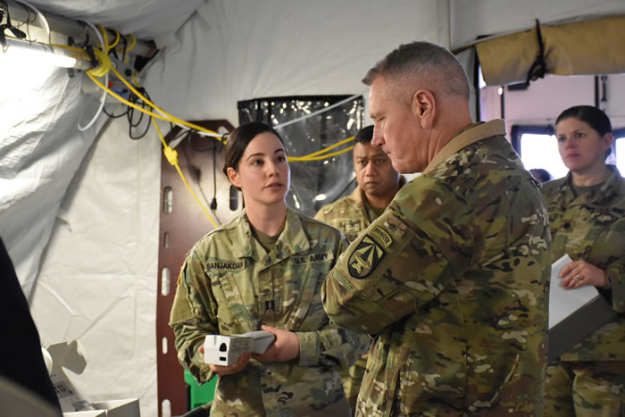 Army Cpt. Sarah Sanjakdar discusses the Laboratory Assay