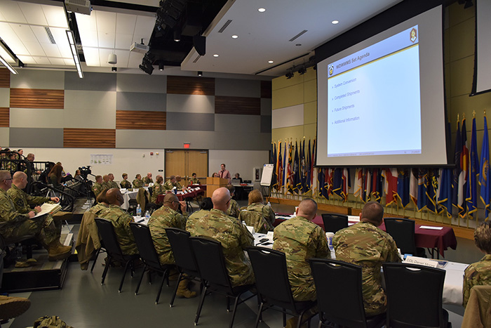 Nearly 200 attendees from across the Army gathered at Fort Detrick, Maryland, for the 2020 Army Hospital Center Conversion Summit
